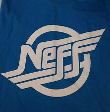 Men's Neff Blue Graphic T-shit Size X-Large XL