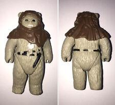 Genuine original vintage retro toy action figure Jedi Ewok Endor figurine 1980s