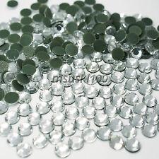 Hotfix Rhinestones Crystal Glass Iron On Gem Diamante Diamond Bling Craft Art