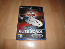 STAR TREK ELITE FORCE DE CODEMASTERS PARA LA SONY PS2 NUEVO PRECINTADO
