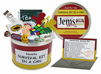 ANNIVERSARY Survival Kit In A Can. Wedding Anniversary Tin Gift Card Present