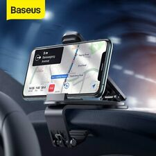 Baseus Navigation Car Phone Holder Dashboard 360° Clip Mount Stand Bracket GPS