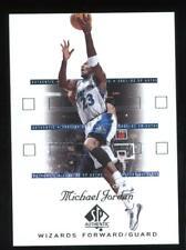 2001-02 SP Authentic Michael Jordan #90 Washington Wizards