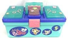 Littlest Pet Shop Storage Tote Carrying Case Tackle Box Style Organizer w/ Latch