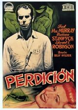 Double Indemnity Perdicion Movie Poster 24x36