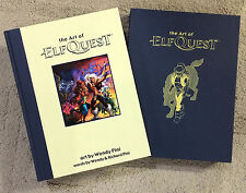 """ART of ELFQUEST"" HC/case by W&R Pini - Wendy Pini art - limited ed! SIGNED 2x!"