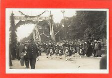 More details for unidentified scots pipers military band ceud mil failte rp pc unused ref s163