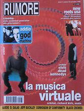 RUMORE 33 1994 Orbital Diamanda Galas Jeff Buckley Suede God Machine G-Love Main