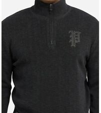 Polo Ralph Lauren RRL Black Pullover Gothic P  Sweater RLPC Athletic Apparel 2XB