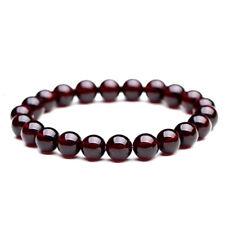 Bracelet en pierre naturelle garnet grenat, perles de 8 mm, diam : 5,5 cm, neuf