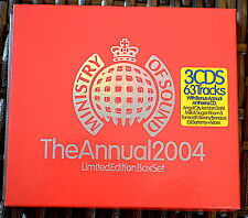The Annual 2004, Ministry Of Sound  3 x CD (discounts)