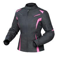 NEW Motorcycle Dririder Ladies Jewel 2 Black/Pink Road Jacket - 2109901_08