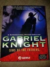 "1993 Gabriel Knight: Sins of the Fathers Sierra Apple Macintosh Mac 3.5"" Floppy"