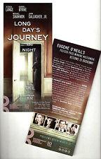 "Jessica Lange ""LONG DAY'S JOURNEY INTO NIGHT"" John Gallagher, Jr. 2016 Flyer"