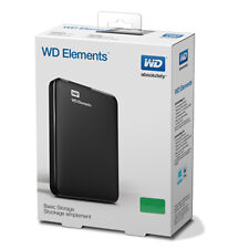 WD Elements 1TB External Hard Disk  (100% Original, 2 Year WD onsite Warranty)