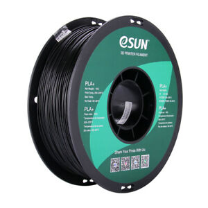 eSUN PLA PRO (PLA PLUS) - Black - 1.75mm 3D Printer Filament 1KG/2.2lb