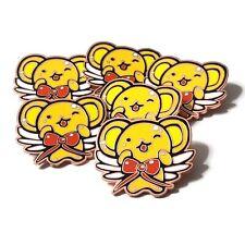 """Cc Clamp Cardcaptor Sakura Kero Rose Gold Anime Manga Enamel Pins 1.25"""""""