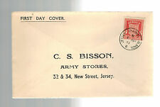 1941 Jersey Channel Islands Occupation First day Cover England Local Use