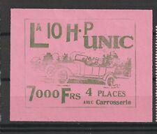 Poster Stamp France Car Large R