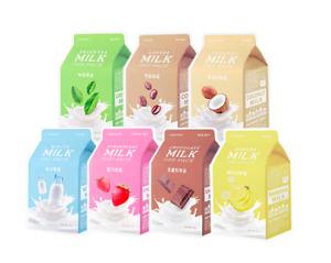 A'PIEU Apieu Milk One Pack  Face Mask + 1 sample US Seller