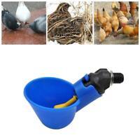 Automatic Chicken Drinker Cups Waterer Water Drinking Chick Poultry Waterer S2U6