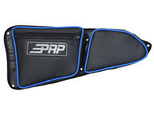 PRP Seats Door Bag w/Knee Pad, PAIR (Set of 2) BLUE Piping for Polaris RZR 1000