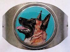 Belgian Malinois Original Art Cuff Bracelet