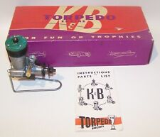 New In Box 1953 K & B .32 Torpedo Glow Control Line Model Airplane Engine