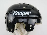 Vintage Black Cooper SK 600 Ice Hockey Player Helmet Senior Mens Made in Canada