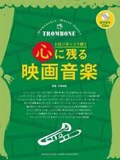 Popular Movie Songs for Trombone Solo Sheet Music Book w/CD