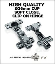 26mm HINGE SOFT-CLOSE, SELF-CLOSE,  HYDRAULIC, CLIP-ON, MINI DOOR HINGE, HC-09