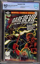 Daredevil # 168 CBCS 9.0 White (Marvel, 1981) 1st appearance Elektra
