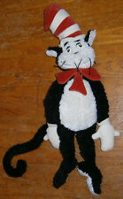 "CUTE Used LARGE 28"" tall Manhattan Toy Dr. Seuss Cat in the Hat Bean Bag Plush"