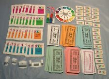 CLASSIC LIFE GAME REPLACEMENT PIECES ACCESSORIES SPINNER BUILDINGS CARDS MONEY