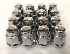 Chrome Lug Nuts for Golf Carts (Set of 16) 12MM Metric Thread fits YAMAHA Carts