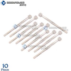 ODM 10 Pieces Stainless Steel PRO TWEEZERS 8'' MASHER Lampwork Bead Tools