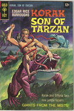 Korak Son of Tarzan Comic Book #23 Gold Key Comics 1968 FINE+