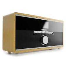 DAB+ AUDIO INTERNET RADIO WIFI SOUND TUNER BLUETOOTH MP3 STREAMING HOLZ VINTAGE