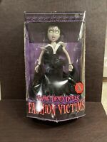 "Mezco Living Dead Doll Fashion Victims Lilith 13"" 2 Outfits 2003 Vampire See Pic"