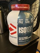 iso 100 hydrolyzed Chocolate Peanut Butter Flavor