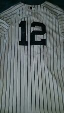 tyler wade signed game used yankees jersey