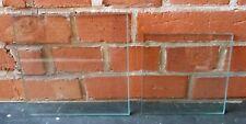 2 Glasplatten Glasboden Regalböden Einlegeböden für Vitrine dickes Glas