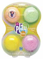 PlayFoam Sparkle 4 Pack - Kids Mess Free Modelling Glitter Play Foam