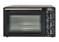 14L ELTA Umluftofen Braun Miniofen Pizzaofen 26cm UMLUFT Minibackofen 1200W NEU