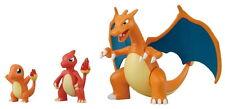 Pokemon Monster Collection Bandai Charizard Assembly Model Figure Evolution Set