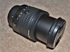 Nikon AF-P DX 18-55mm Zoom Nikkor F 3.5-5.6 G VR  zoom lens - good condition,