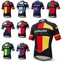 2019 Countries Team Radsport Trikot Herren Kurzarm Fahrradshirt Radtrikot S-5XL