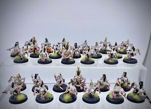 Warhammer AoS - Undead Flesh-eater Courts 30 Crypt Ghouls painted