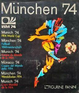 PANINI Munchen 74 (1974) ORIGINAL World Cup Sticker ALBUM *100% COMPLETE*****