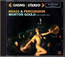 Morton Gould brass & Percussion RCA LIVING STEREO CD Sousa stars réparti Forever